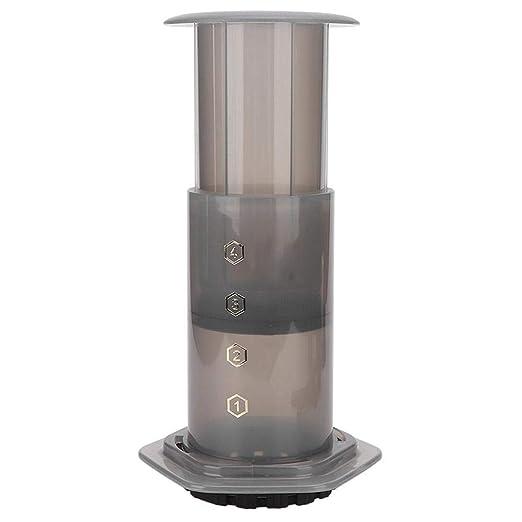 AUNMAS 240ml Cafetera de plástico Máquina de café portátil para ...