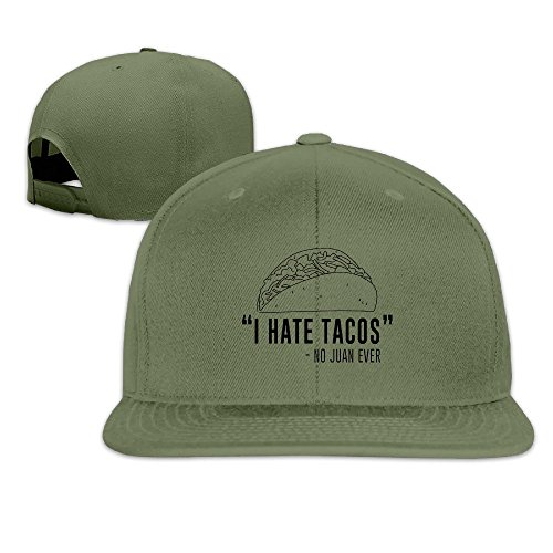 I Hate Tacos Said No Juan Hats Plain