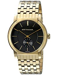 WITTNAUER Men's WN3042 22mm Stainless Steel Gold Bracelet Watch