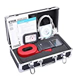 ETCR ETCR2000E+ High Sensitivity Digital Clamp Meter Earth Ground Resistance Tester Meter 0.01 to 1200 Ohm with RS232 Alarm function 99 Sets Data memory