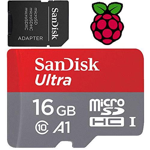 16GB Raspberry Pi Preloaded  SD Card | 3B+ , 3B, 2, Zero - C