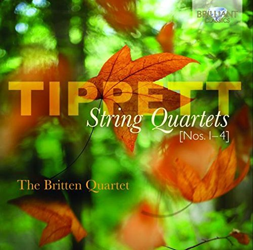 Tippett: String Quartets 1-4 by The Britten Quartet (2012-03-15)