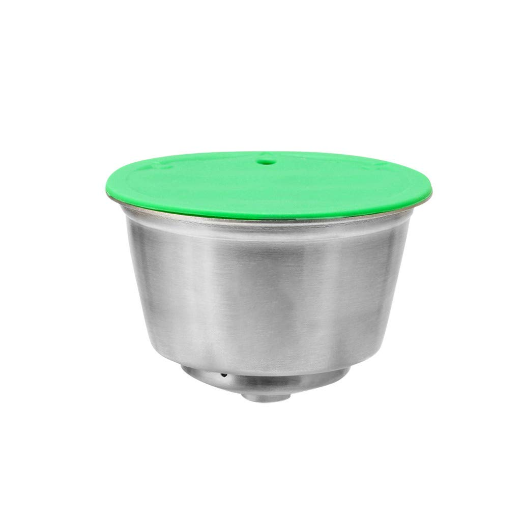 Freeby - Cápsula de café de acero inoxidable reutilizable con ...