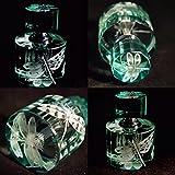 Mini Crystal Perfume Bottle, Flowers Series XCI