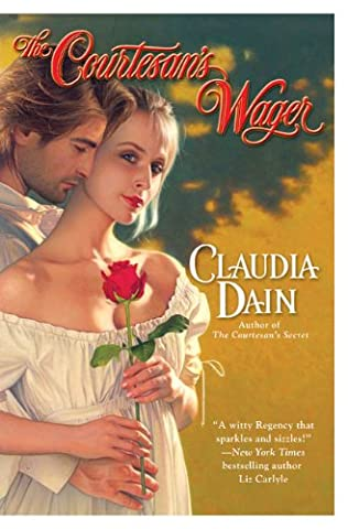 book cover of The Courtesan\'s Wager