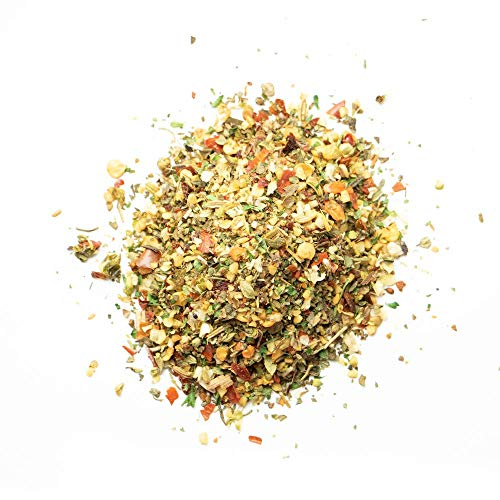 Spiceology - Pizza Pie Salt Free Seasoning - 13 oz. - Use On: French fries, Pulled Pork, Chicken, Beef, Pizza, Bread, Chili, Mac n' Cheese.