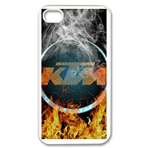 Ktm Racing Logo For iPhone 4 4s Phone Case Cover 6FY957059