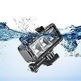 XCSOURCE Waterproof Diving Light 30m Underwater Light Dimmable LED + Rechargeable Battery for Gopro Hero 5/4/3+/3, SJCAM SJ4000/SJ5000, Xiaomi Yi DC768