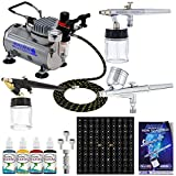 Best Master Airbrush Airbrush Makeup Kits - Master Airbrush Water Based Tattoo System. 3 Airbrushes Review