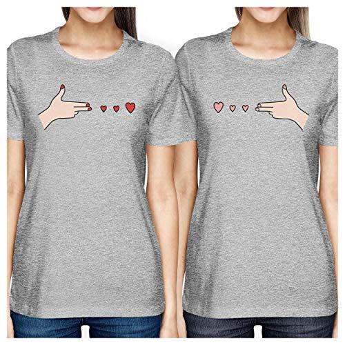 Camiseta Printing para talla 365 de manga corta mujer 7pqxwR5