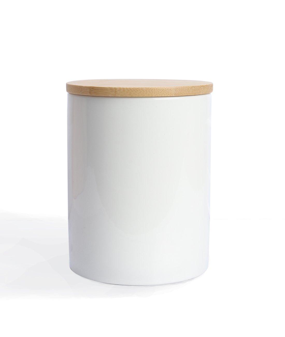 Fecihor Küche Keramik-Dose Behälter-Set mit luftdichter Verschluss ...