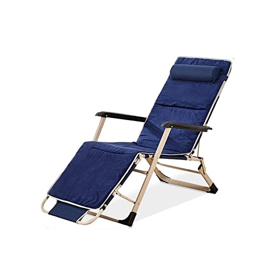 Amazon.com : WFFXLL Sun Lounger Zero Gravity Reclining Lounge Chair Multi-Position Lazy Garden Outdoor Terrace Folding Chair (Color : Three-Dimensional ...
