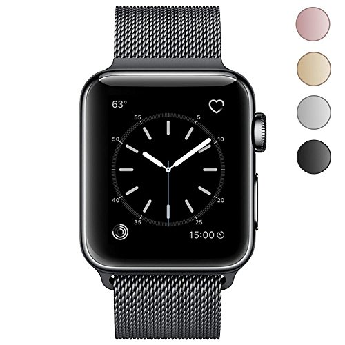 OROBAY Replacement Band for Apple Watch, Stainless Steel