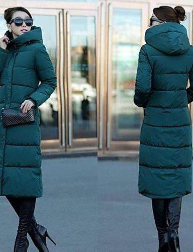 Pour Femmes plusieurs Manteau Vert 3xl Yameijia Couleurs Coton Capuche En À wXxYq4X