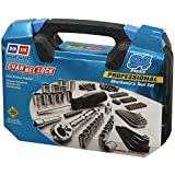 Channellock 39070 94 Pc. Mechanic's Tool Set, Chrome Vanadium, 3/16'' - 3/4'', 4 mm - 19 mm, Metric/SAE