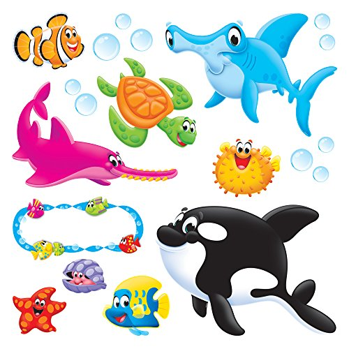 - Trend Enterprises Sea Buddies Bulletin Board Set