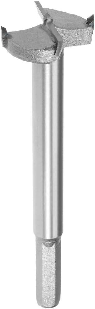 10mm Hex Shank 5-Inch Length uxcell 35mm Hinge Boring Forstner Drill Bit