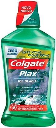 Enxaguante Bucal Colgate Plax Ice Glacial 500ml Promo Leve 500ml Pague 350ml