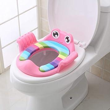 Blue Soft Toilet Baby Training Seat Cushion Child Potty Urinal Chair Pad Assorte