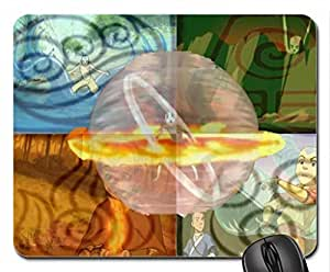 Avatar:- Four Elements Bender Mouse Pad, Mousepad (10.2 x 8.3 x 0.12 inches)