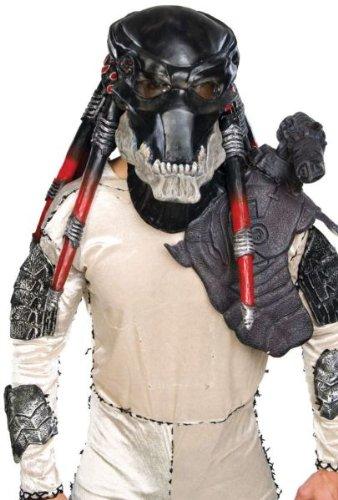 Deluxe Predator Overhead Mask Costume Accessory ()