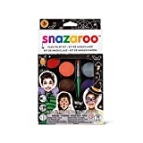 Snazaroo 1172070 Face Paint Palette Kit - Halloween