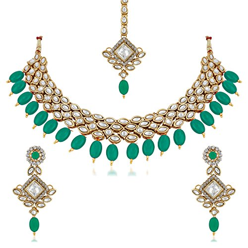 cc7b5b7880a017 ... Traditional Jewellery Set with Earrings for Women & Girls- NL-256. 🔍.  Jewellery ...