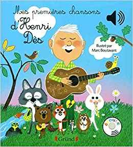 Book's Cover of Mes premières chansons d'Henri Dès (Français) Relié – 4 octobre 2018