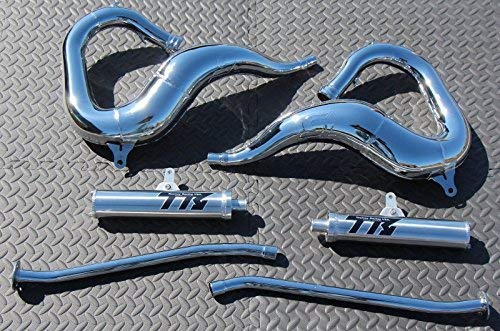 vitos performance New Yamaha Banshee Chrome Toomey Racing T5 Pipes & T-5 silencers 1987-2006
