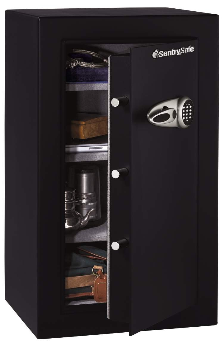 SentrySafe Lock Boxes (T0331) fire chests,safes, 6.1 Cubic Foot Black