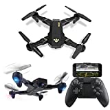 LUCKSTAR Remote Control UAV Aircraft - 2.4GHZ 4.5CH Dual Axis RC Airplane with Double Gyro & Headlamp - Cool Boy's/Kids' Toy (Black1)