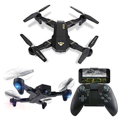 LUCKSTAR Remote Control UAV Aircraft - 2.4GHZ 4.5CH Dual Axis RC Airplane with Double Gyro & Headlamp - Cool Boy's/Kids' Toy (Black1) (Predator Rc Plane)