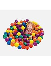 100 قطع ملونة كرات البحر لينة البلاستيك المحيط كرات مضحك طفل طفل السباحة حفرة لعبة في داخلي الطفل اللعب لعبة كرات