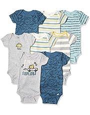 Gerber baby-boys 8-pack Short Sleeve Onesies Bodysuits