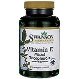 Swanson Vitamin E Mixed Tocopherols 400 Iu (268 mg) 250 Sgels