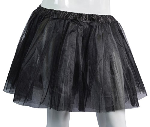 [Big Girls Tutu Skirt Classic 3 Layered Tulle Princess Ballet Dance Running Party Costume] (80s School Girl Costume)