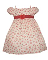 Baby and Toddler Summer Flower Dress (Size 6M to 4T)