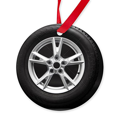 CafePress Aluminum Alloy Wheel Ornament