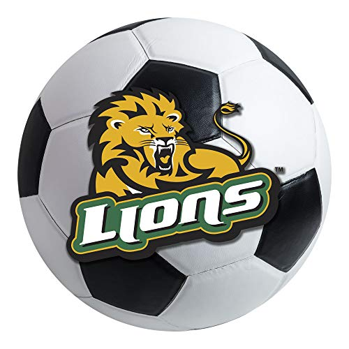 FANMATS NCAA Southeastern Louisiana Lions Nylon Face Soccer Ball Rug