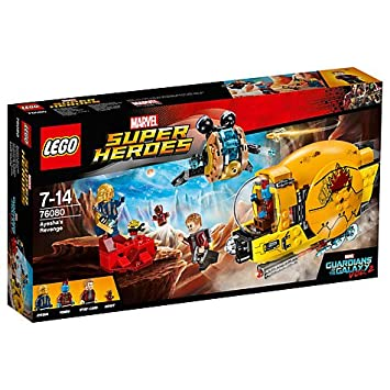 LEGO Marvel Super Heroes 76080 Guardians of the Galaxy 2: Ayesha's ...