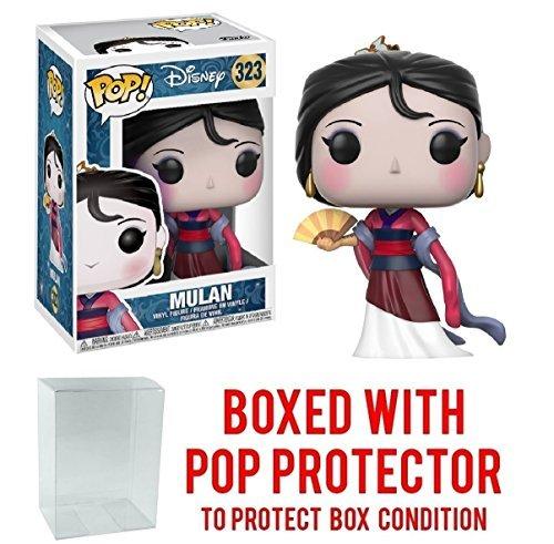 Disney: Mulan Funko Pop Bundled with Pop Box Protective Case Mulan Vinyl Figure