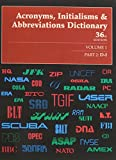 img - for Acronyms, Initialisms & Abbreviations Dictionary (Acronyms, Initialisms, and Abbreviations Dictionary) book / textbook / text book