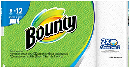 Kitchen Paper (Bounty Select-A-Size Paper Towels, White, Giant Roll - 8)