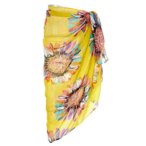 Ayliss Womens Swimwear Chiffon Cover up Beach Sarong Pareo Bikini Swimsuit Wrap,#11