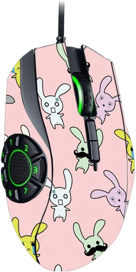 MightySkins Skin Compatible with Razer Naga Hex V2 Gaming Mouse Made in The USA Durable and Unique Vinyl Decal wrap Cover Easy to Apply and Change Styles Protective Bunny Bunches Remove