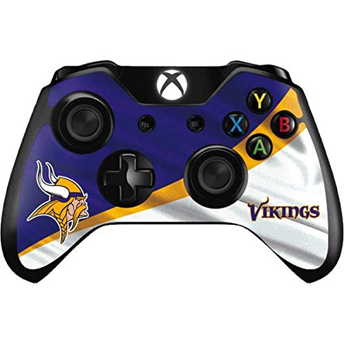 Skinit Minnesota Vikings Xbox One Controller Skin - Officially Licensed NFL Gaming Decal - Ultra Thin, Lightweight Vinyl Decal Protection