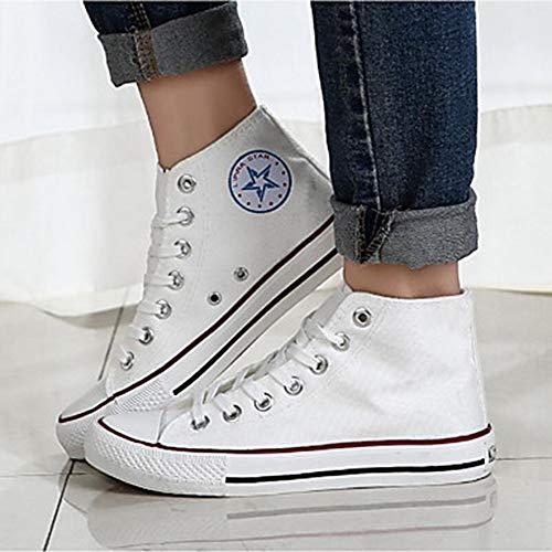 Toile Semelles CN39 Printemps Rond Femme Chaussures Bleu EU39 UK6 TTSHOES US8 Noir Talon Bout Basket Automne Légères Rouge Plat White Drapée x1qXEwwpR