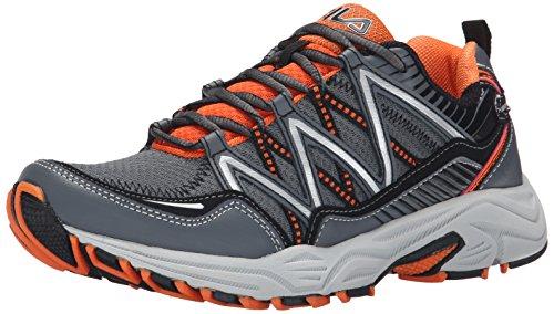 Image of the Fila Men's Headway 6 Running Shoe, Castle Rock/Vibrant Orange/