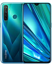 realme 5 Pro Smartphone Cellulari, 6.3 '' Snapdragon 712AIE Octa Core 48MP AI Quad Camera 4035mAh, Dual Sim, Versione Europea (4GB+128GB, Verde)