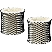 Best Vacuum Filter 2 Pack Compatible with Holmes HWF65 (C) Humidifier Wick Filter for Holmes, Sunbeam, Bionaire, Replaces Part # HWF65CS